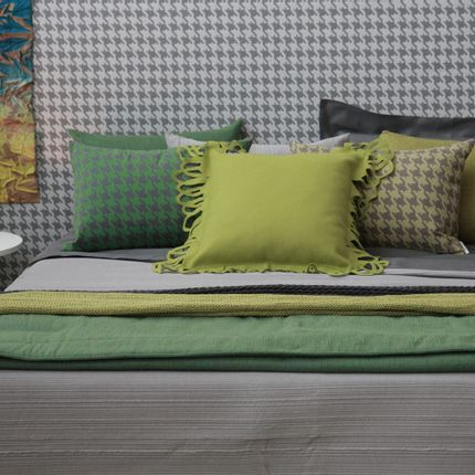 Comforters, pillows - PIED DE POULE AND PLISSE' - POEMO DESIGN