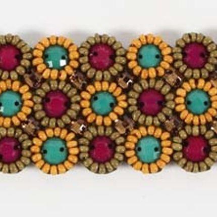 Jewelry - Fancy jewellery with glass beads embrowdered - ILLUMINATION
