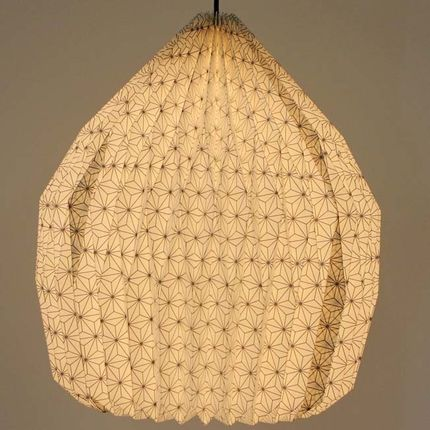Hanging lights - Origami paper lampshade - ILLUMINATION