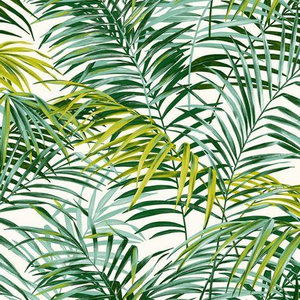 Upholstery fabrics - Palm Springs Vert - THEVENON