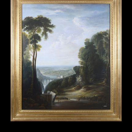 Paintings - Italian classic landscape - BARJ BUZZONI