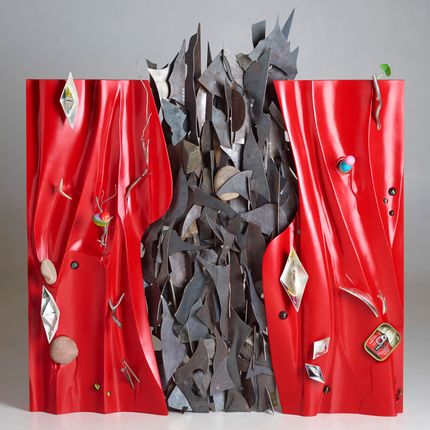 Objets de décoration - AU FIL DU COURANT (2) - BOURDIER JEAN PLASTICIEN