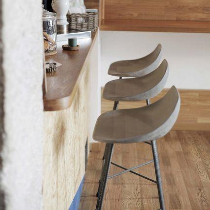 Chairs - HAUTEVILLE - Bar chair - LYON BÉTON