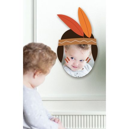 Children's bedrooms - Miroir Cowboy - DECOLOOPIO