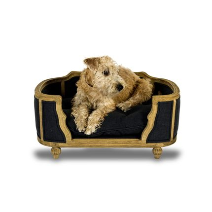 Small sofas - Arthur M upholstered fusili dark blue - LORD LOU