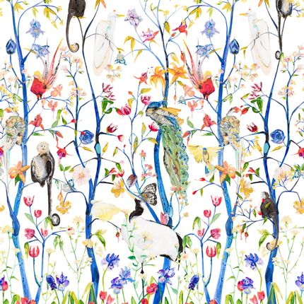 Papiers peints - Menagerie Wallpaper - VOUTSA