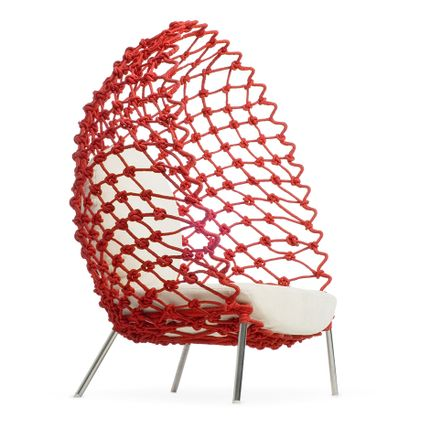 Lounge chairs - Dragnet Lounge Chair - KENNETH COBONPUE