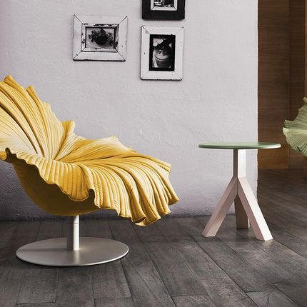 Chairs - Bloom Easy Armchair swivel - KENNETH COBONPUE