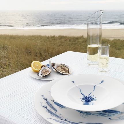 Assiettes de reception - Soup plate Ocean - HERING BERLIN