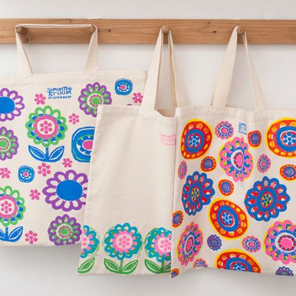 Sacs / cabas - Grooms Blooms Tote Bags - TALENTED
