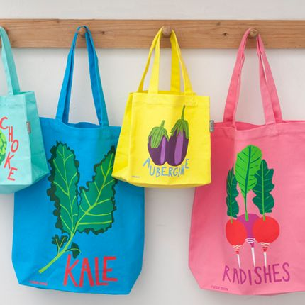 Sacs / cabas - Viva Vegetables Tote Bag Collection - TALENTED