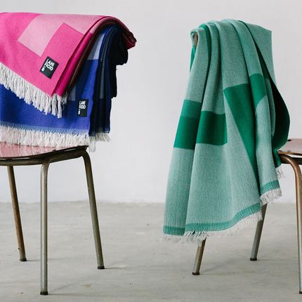 Throw blankets - LEIDA - LANIFICIO B