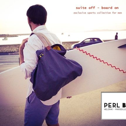 Sac de sport - Sports collection  - PERL B HELSINKI-MARSEILLE