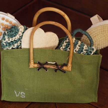 Brushes - Bag with bathaccessories - VALERIA PRODUKTEN
