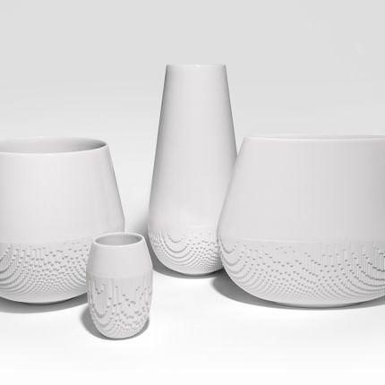 Vases -  NEW COLLECTION OF VASES, EVOLUTION  - NON SANS RAISON PORCELAINE DE LIMOGES