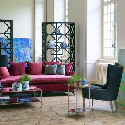 sofas - CANAPE VINCENT ROUGE - DU BOUT DU MONDE