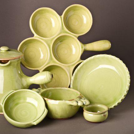 Platter, bowls - For oven - BARBOTINE AUBAGNE EN PROVENCE