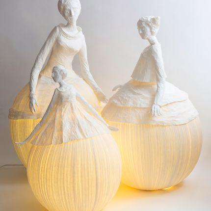 Lampes à poser - Mademoiselle - PAPIER À ÊTRES