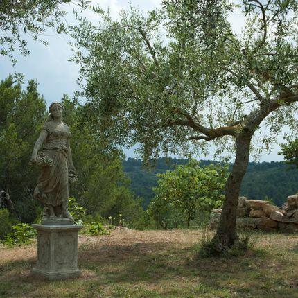 Sculpture - Full set of 4 seasons Statues - TERRES D'ALBINE
