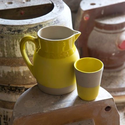 Tea / coffee accessories - stoneware tumbler - MANUFACTURE DE DIGOIN 1875