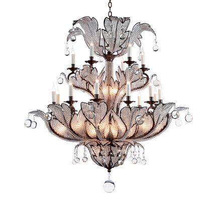 Decorative objects - Chandelier  18116 - BAGUES-BRONZES DE FRANCE