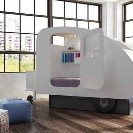 Children's bedrooms - Caravan Bed - MATHY BY BOLS