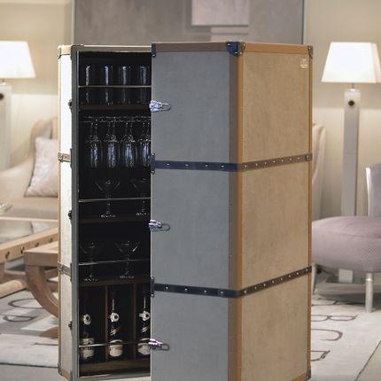 Storage box - Traveler cocktail cabinet - COLECCIÓN ALEXANDRA
