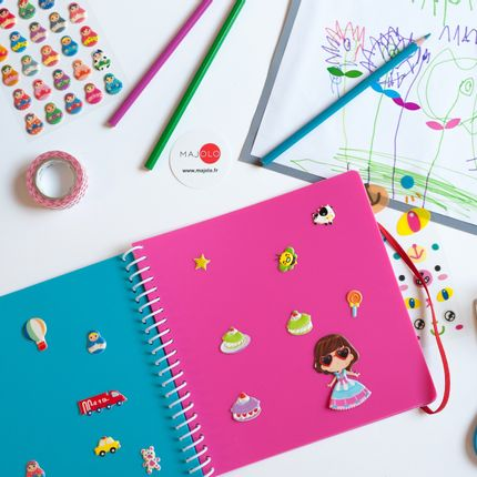 Creative Hobbies - Sticker book et stickers - MAJOLO