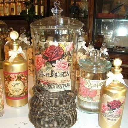 Coffret / boite - Flacons de parfum - TIEF