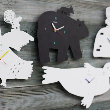 Office supplies - Arctic Wall Clock - IGLOOZ