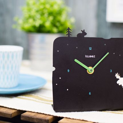 Office supplies - Arctic Table Clock - IGLOOZ