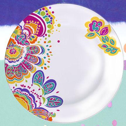 Formal plates - Assiette INDY - CLAUDIE FRANEL DESIGN