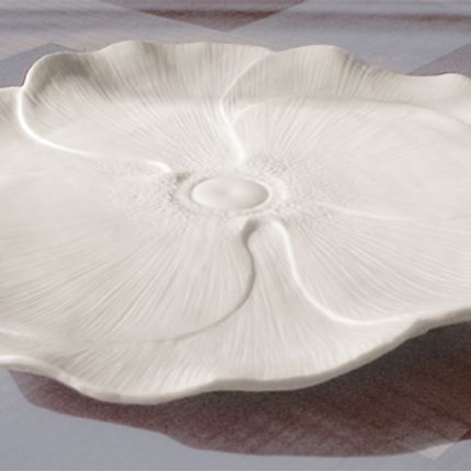 Formal plates -   Calice plate - CLAUDIE FRANEL DESIGN