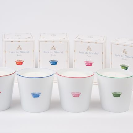 Candles - Crowns Scented Candles - INES DE NICOLAY
