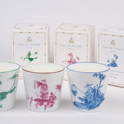 Candles - Shanghai Scented Candles - INES DE NICOLAY