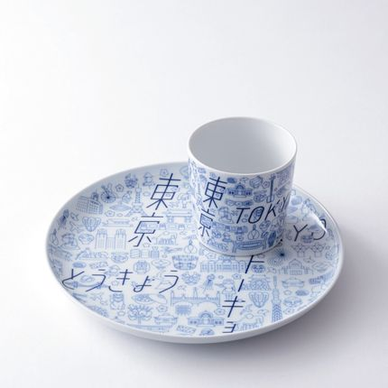Everyday plates - TOKYO I CON Plate L / Cup - KIHARA