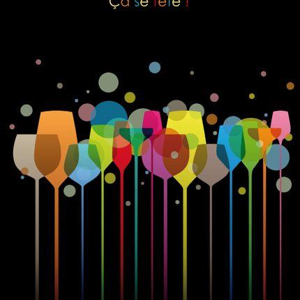 Papeterie / carterie / écriture - grande carte anniversaire - CAPUCINE DESIGN