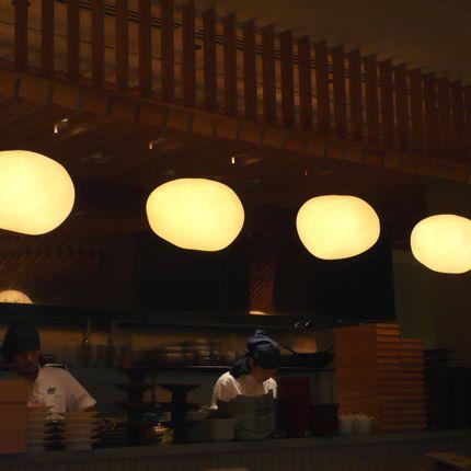 Hanging lights - Mokumoku-Pendant(L) - AOYA