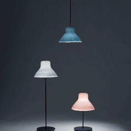 Hanging lights - bi-color washi Pendant(L) - AOYA
