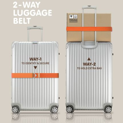 Travel accessories / suitcase - HF 2-WAY LUGGAGE BELT - ALIFE