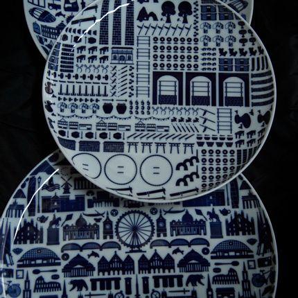 Everyday plates - Singapore Icon / European Icon / Arita Icon - KIHARA