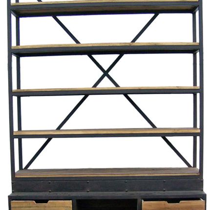 Bookshelves - Industrial Shelf - JP2B DÉCORATION