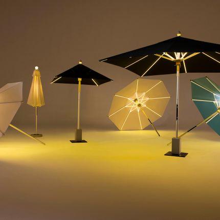 Sunshades - NI LED Parasol Round 250 - FOXCAT DESIGN