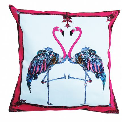 Coussins - Coussin Flamingo Rose - ASTRID SARKISSIAN
