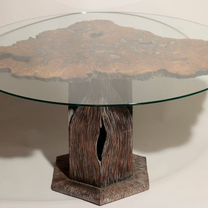 Tables - Table sculpture - NANCEY CHRISTOPHE SCULPTURE
