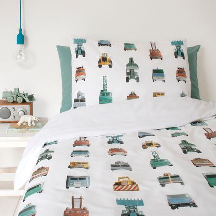 Linge de lit - Work vehicles duvet cover - STUDIO DITTE