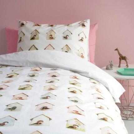 Bed linens - Birdhouse duvet cover - STUDIO DITTE