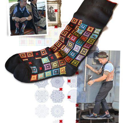Chaussettes - GrandMa - OYBO SOCKS