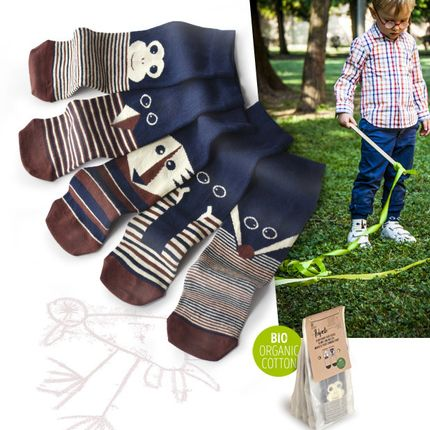 Children's fashion - Polpetto Wild Friends - OYBO SOCKS