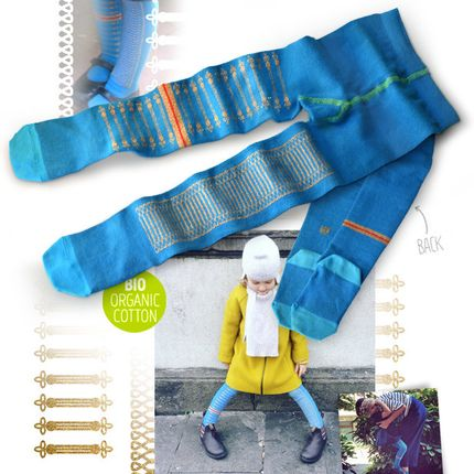 Children's fashion - Sgt. Pepper girl tights - OYBO SOCKS